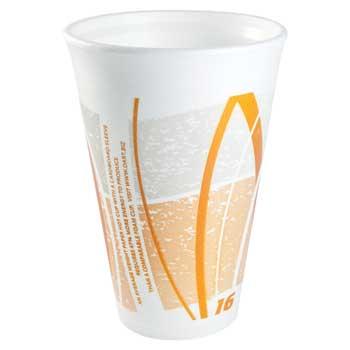 Impulse® Stock Foam Print Cups, 16 oz., 1000/CT