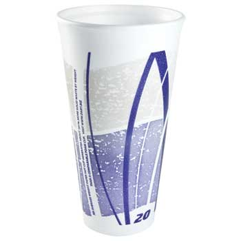 Impulse® Stock Foam Print Cups, 20 oz., 500/CS