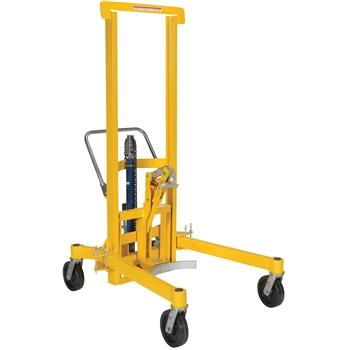 Vestil Economical Mechanical Drum Transporter, Foot Pump, 880 lb. Capacity