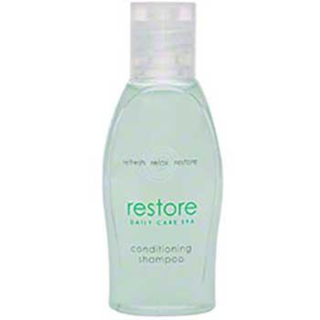 VVF Restore Conditioning Shampoo, Aloe, 1 oz Bottle, Clean Scent, 288/Carton