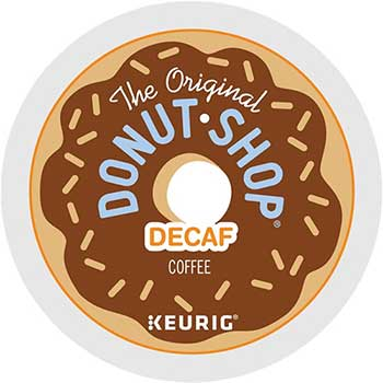 Donut Shop Decaf Coffee K-Cup® Pods, 24/BX