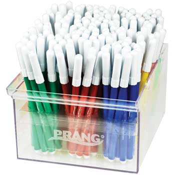 Prang® Fine Line Markers Master Pack, Assorted, 144/ST