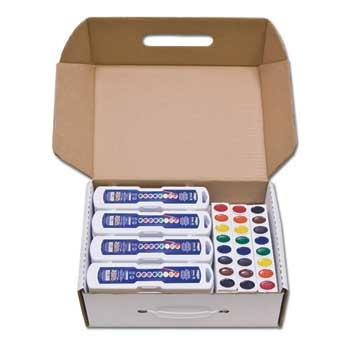 Oval Pan Watercolor Refill Trays - 3 Per Box