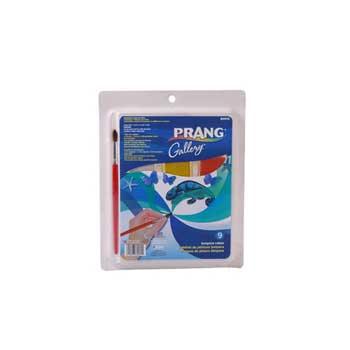 Prang® Classic Tempera Cake Set, Assorted, 9/ST