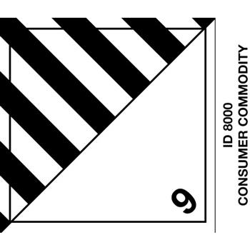 "Tape Logic® Labels, Consumer Commodity, 4"" x 4 3/4"", Black/White, 500/RL"