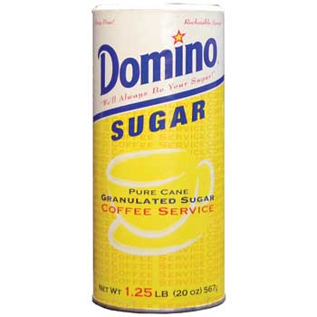 Domino® Pure Cane Sugar, 20 oz. Canister