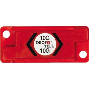W.B. Mason Co. Drop-N-Tell® Resettable Indicator 10G, Red, 25/CS