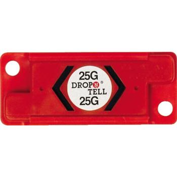 W.B. Mason Co. Drop-N-Tell® Resettable Indicator 25G, Red, 25/CS