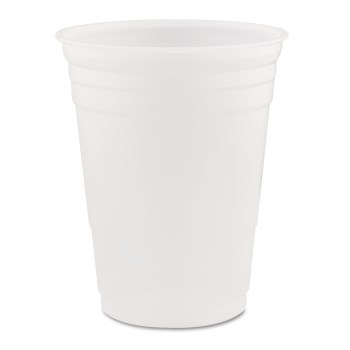 Dart® Conex® Galaxy® Plastic Cups, Translucent, 16oz., 1000/CT
