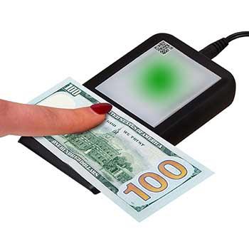 Dri-Mark® FlashTest Counterfeit Detector, U.S. Currency, Black