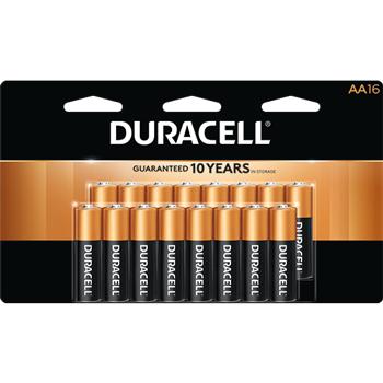 Coppertop® AA Alkaline Batteries, 16/PK