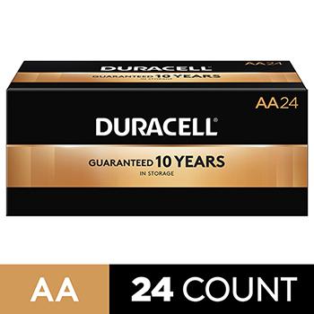 Coppertop® AA Alkaline Batteries, 24/BX