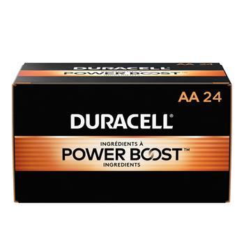 Duracell® Coppertop® AA Alkaline Batteries, 24/BX