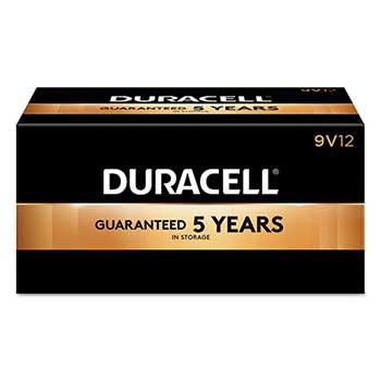Coppertop® 9V Alkaline Batteries, 12/BX