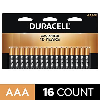 Coppertop® AAA Alkaline Batteries, 16/PK