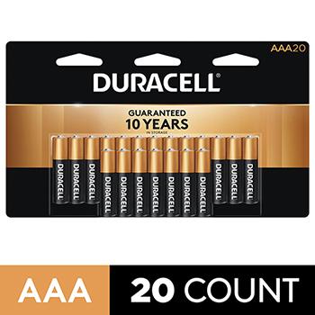 Coppertop® AAA Alkaline Batteries, 20/PK