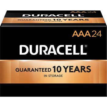 Coppertop® AAA Alkaline Batteries, 24/BX