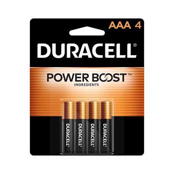 Duracell® Coppertop® AAA Alkaline Batteries, 4/PK
