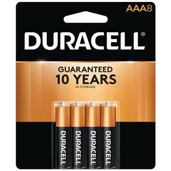 Coppertop® AAA Alkaline Batteries, 8/PK