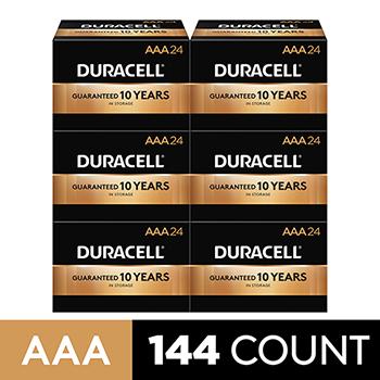 Coppertop® AAA Alkaline Batteries, 144/CT