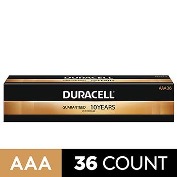 Coppertop® AAA Alkaline Batteries, 36/PK
