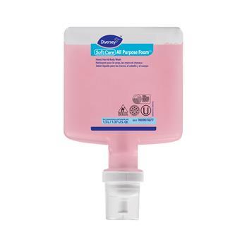 Diversey™ Soft Care All Purpose Foam, Floral, 1.3 L Cartridge, 6/Carton