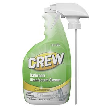 Crew® Bathroom Disinfectant Cleaner, 32 oz, 4/CT