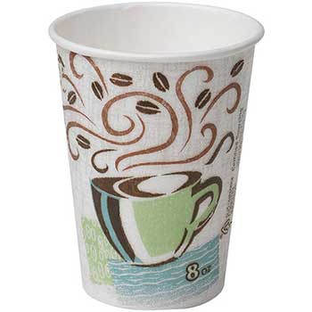 PerfecTouch® Hot Cups, Paper, 8 oz. (Fits Small Lids), 500/CT