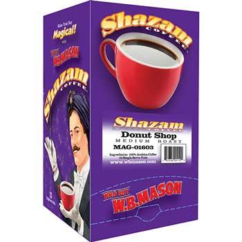 Shazam™ Coffee Pods, Donut Shop, Medium, 15/BX