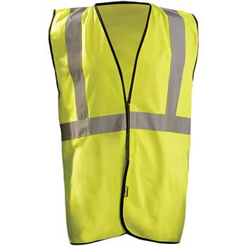 OccuNomix® High Visibility Value Solid Standard, Class 2, Yellow, Large/X-Large