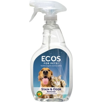 Earth Friendly Products ECOS™ Pets Stain & Odor Remover, 22 oz., 6/CT