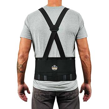 ergodyne® ProFlex® 1625 S Black Elastic Back Support Brace