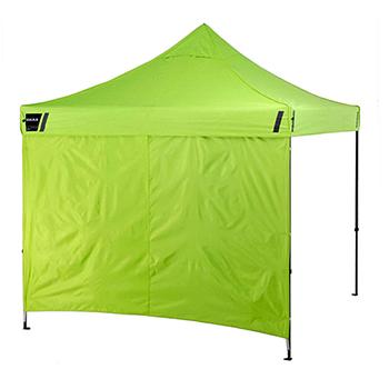 Shax® 6098 Lime Optional Pop-Up Tent Sidewalls