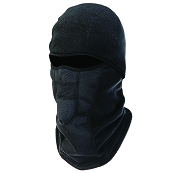 ergodyne® N-Ferno® 6823 Balaclava Face Mask - Wind-Proof, Hinged Design, Black