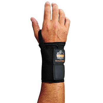 ergodyne® ProFlex® 4010 L-Right Black Double Strap Wrist Support