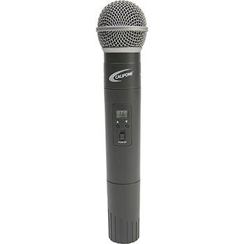 Califone Microphone - 90 Hz to 17 kHz - Wireless - Dynamic - Handheld - Mini-phone