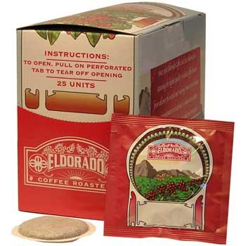 Eldorado Donut Shoppe Coffee, 25 Pods/Box