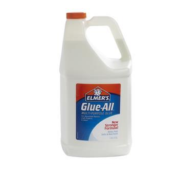 Elmer's® Glue-All White Glue, Repositionable, 1 gal