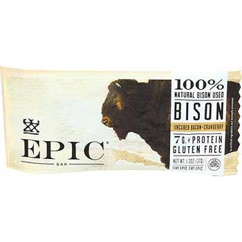 Epic® Cranberry Bacon Bison Bars, 1.3 oz., 12/BX