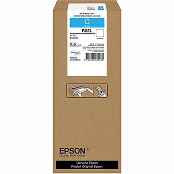 Epson® R02 Ink Cartridge - Cyan - Inkjet - High Yield