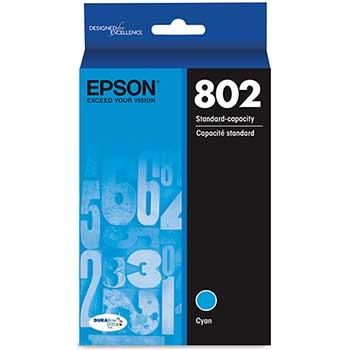 Epson® DuraBrite® Ultra T802220-S Ink Cartridge, Cyan