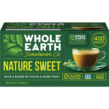 Whole Earth Sweetener Co. Nature Sweet® Sweetener Packets, 400/CT