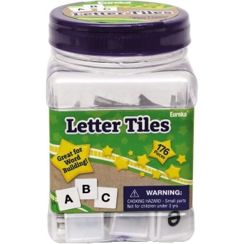 Tub of Letter Tiles, 176/ST
