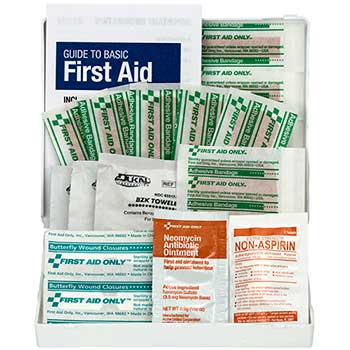 First Aid Only™ Personal First Aid Kit, 21 Pieces/Kit