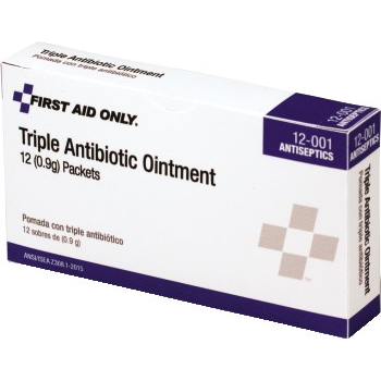 First Aid Antibiotic Ointment, 12/Box