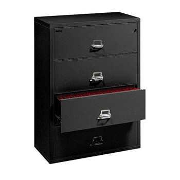 FireKing® Insulated Four-Drawer Lateral File