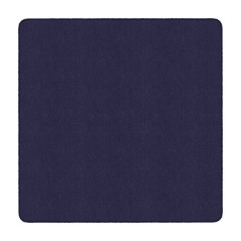 Flagship Carpets Solid Square Rug, Navy, 6' x 6'