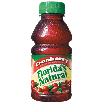 Florida's Natural® Cranberry Juice, 24/CS