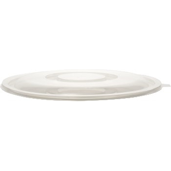 Chef's Supply Super Bowl To-Go Lid, 320 oz., Clear, 25/CS