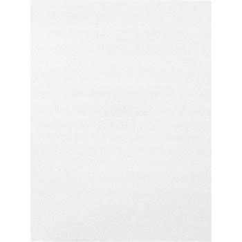 "Flush Cut Foam Pouches, 18"" x 24"", White, 75/CS"